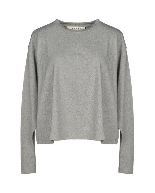 Marni - Gray T-shirt - Lyst