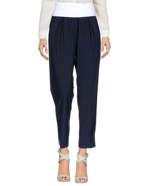 Peserico - Blue Casual Trouser - Lyst