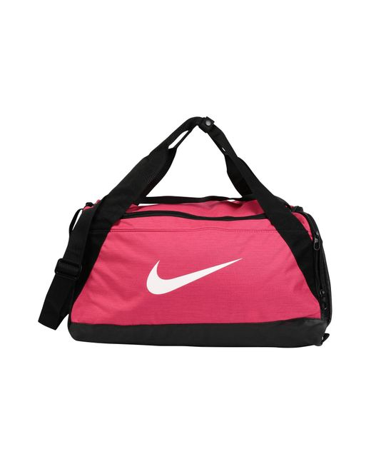 a650c63eb5 Nike - Pink Brasilia Small Duffel Bag (flint Grey black white) Duffel ...