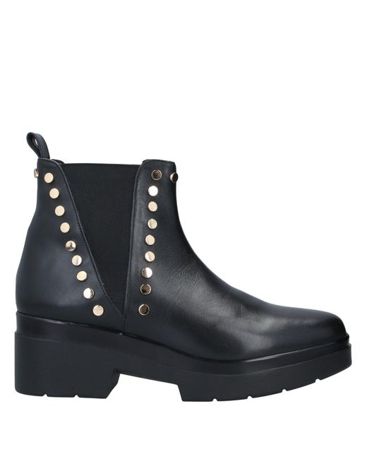 Albano Black Ankle Boots