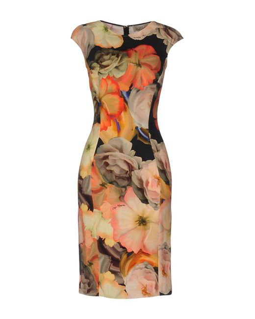 Gai Mattiolo - Pink Knee-length Dresses - Lyst