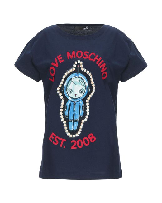 Love Moschino Blue T-shirt