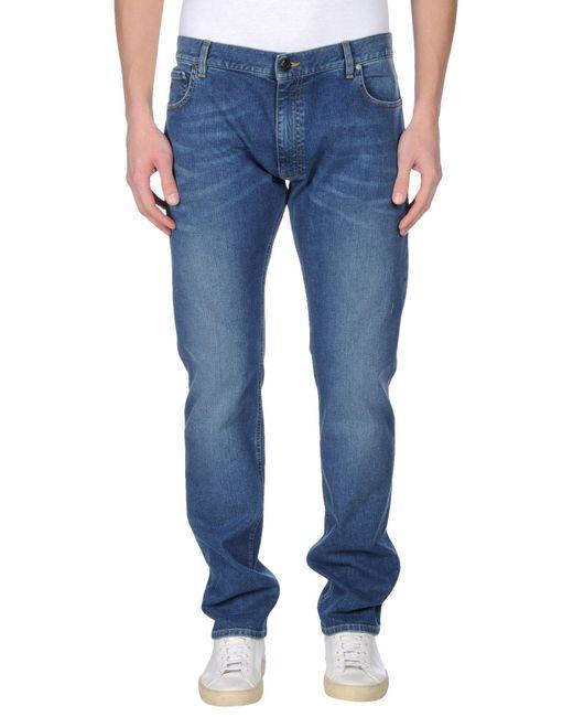 Z Zegna | Blue Denim Pants for Men | Lyst