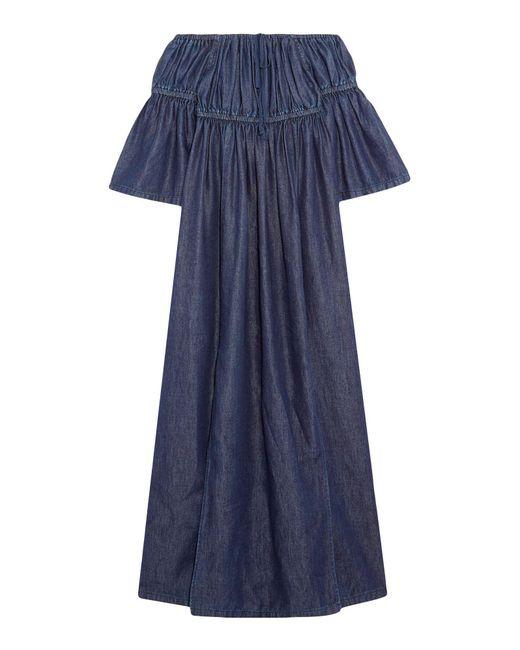 Goen.J - Blue 3/4 Length Dresses - Lyst
