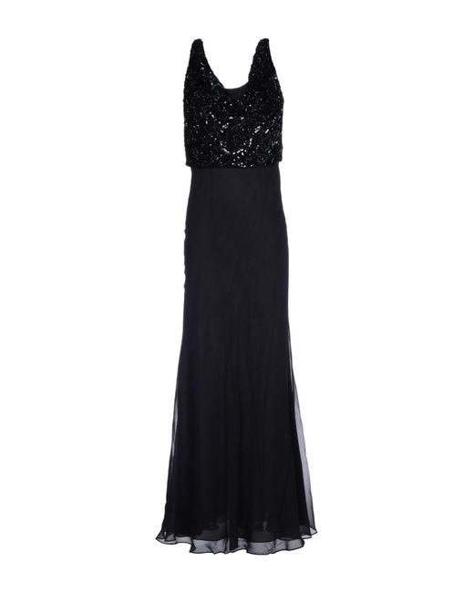Gai Mattiolo - Black Long Dress - Lyst