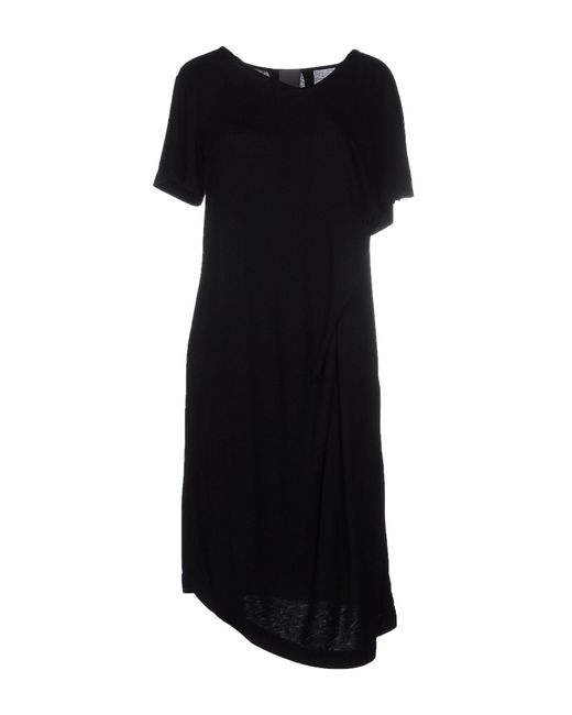 Lot78 - Black Knee-length Dress - Lyst