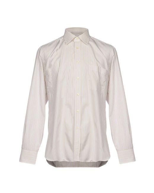 Carlo Pignatelli - White Shirt for Men - Lyst