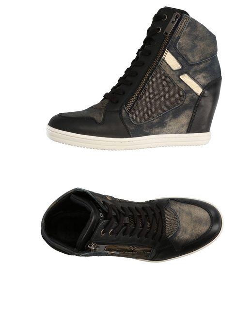 Hogan Rebel   Black High-tops & Sneakers   Lyst