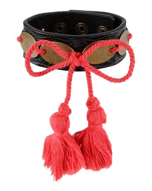 DSquared² - Red Bracelet for Men - Lyst