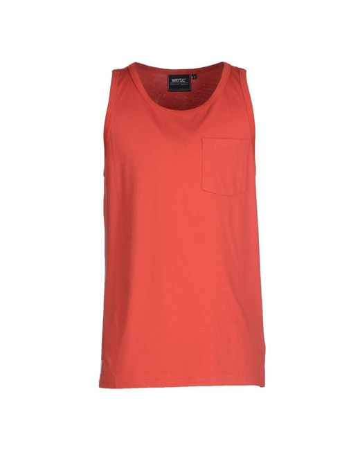 Wesc | Red Vest for Men | Lyst