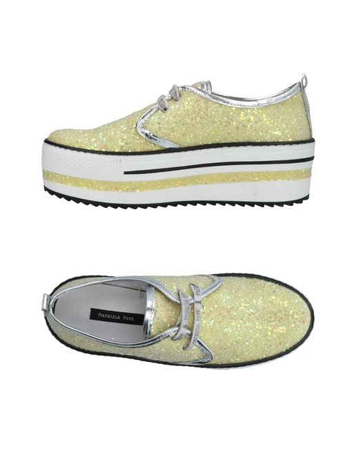 Patrizia Pepe - Yellow Low-tops & Sneakers - Lyst