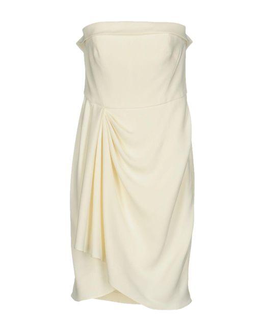 Gai Mattiolo - White Short Dress - Lyst