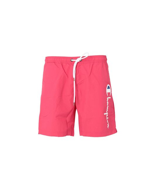 6715a9af25 Champion - Pink Swimming Trunks for Men - Lyst ...