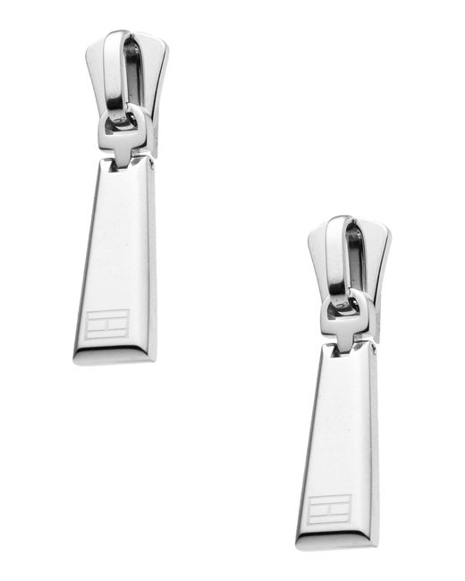 Tommy Hilfiger - Metallic Earrings - Lyst