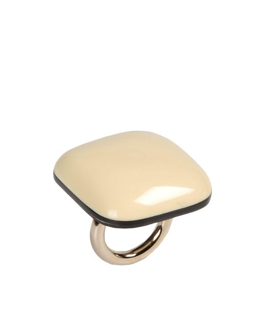 Marni | White Ring | Lyst