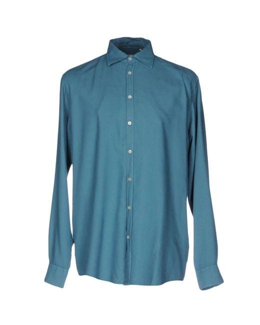 Massimo Alba | Blue Shirt for Men | Lyst