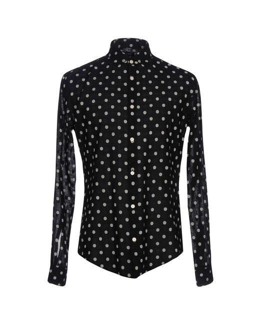 Armani Jeans - Black Shirt for Men - Lyst