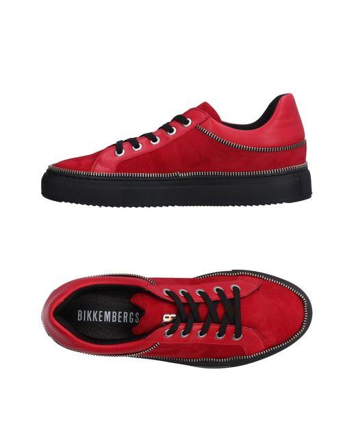 Dirk Bikkembergs   Red Low-tops & Sneakers   Lyst