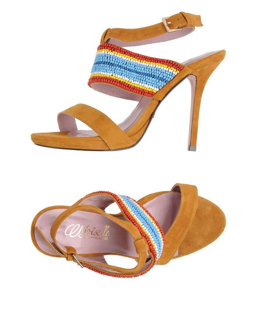 Noiselle By Eh - Multicolor Sandals - Lyst