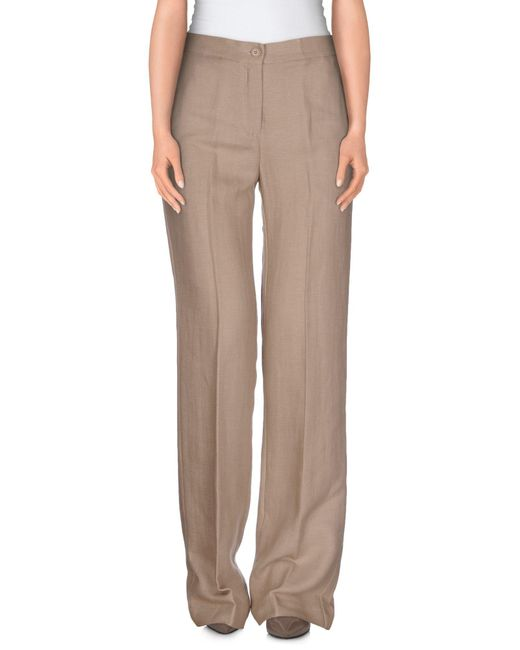 Suoli | Brown Casual Pants | Lyst