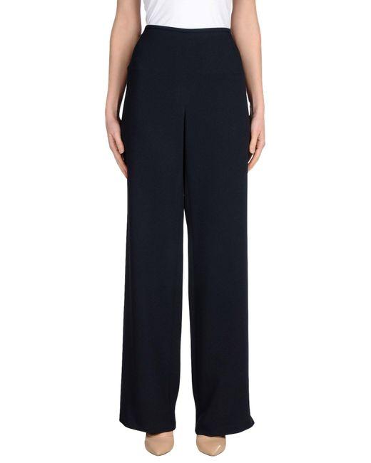 Armani   Blue Casual Pants   Lyst