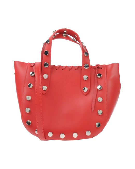 Bebe - Red Handbag - Lyst