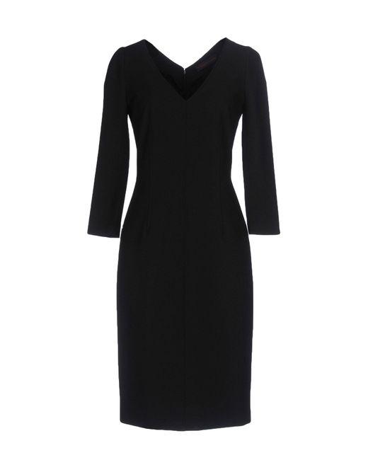 Trussardi - Black Knee-length Dress - Lyst