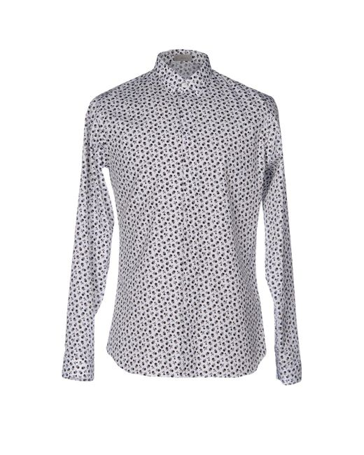 Dior Homme - White Shirt for Men - Lyst