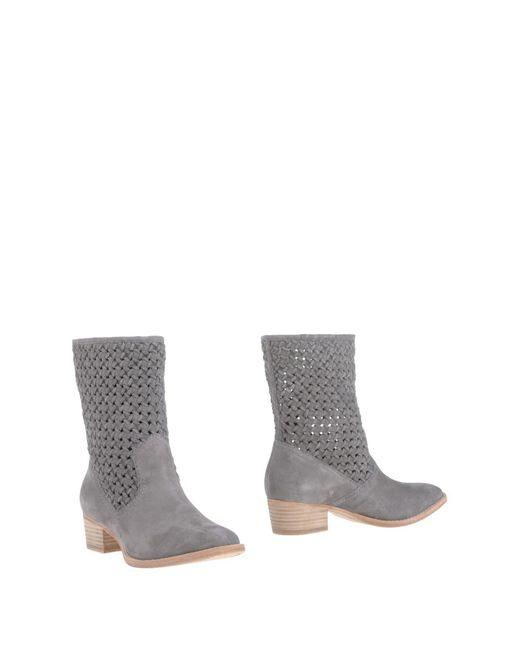 Rachel Zoe - Gray Ankle Boots - Lyst
