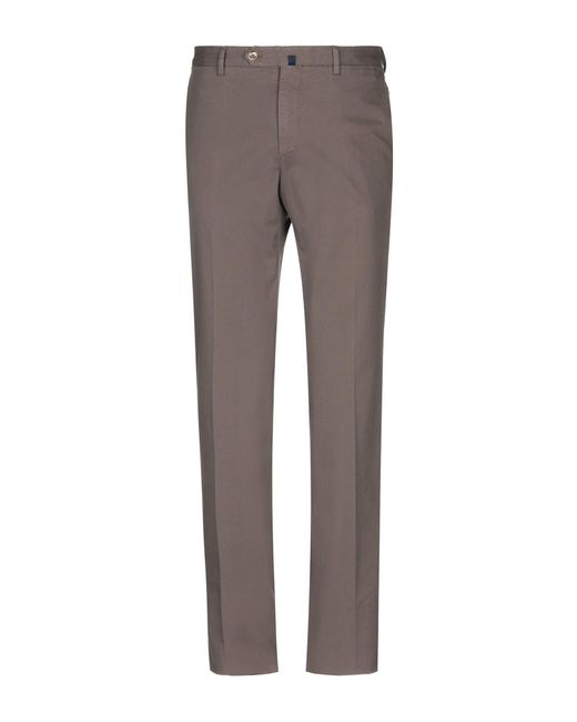 Incotex - Brown Casual Pants for Men - Lyst