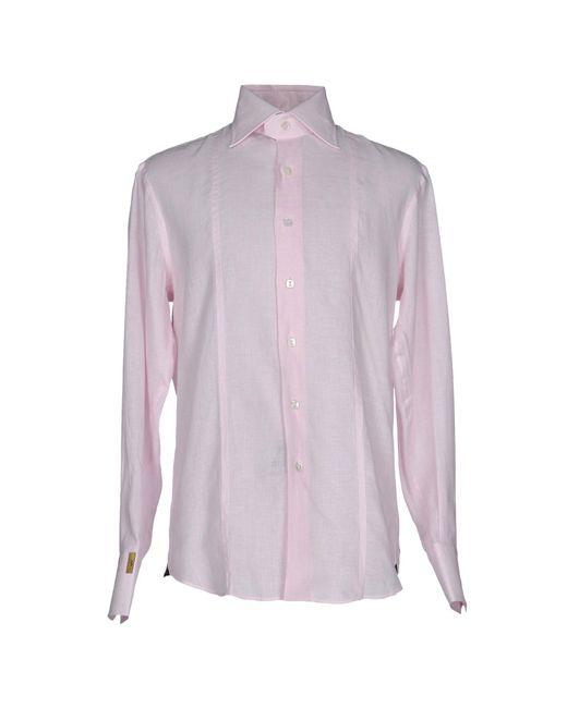 Billionaire | Pink Shirt for Men | Lyst