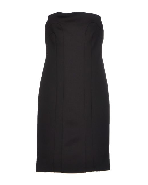 Space Style Concept | Black Short Dress | Lyst