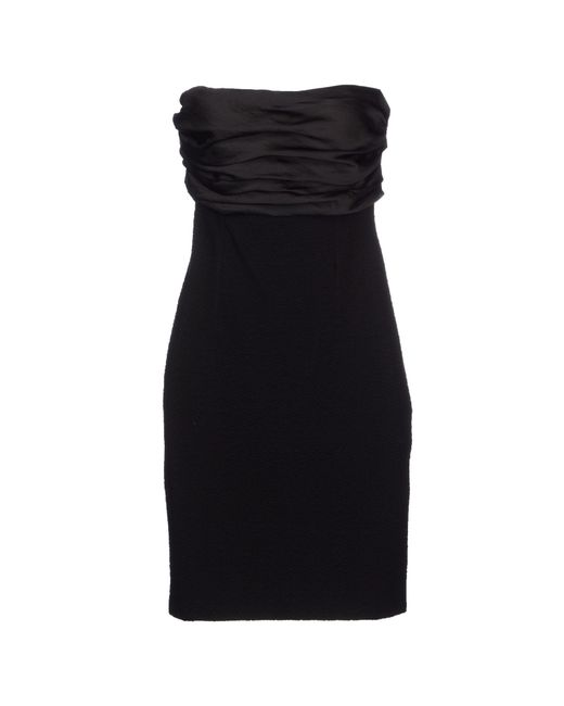 GAUDI | Black Short Dress | Lyst