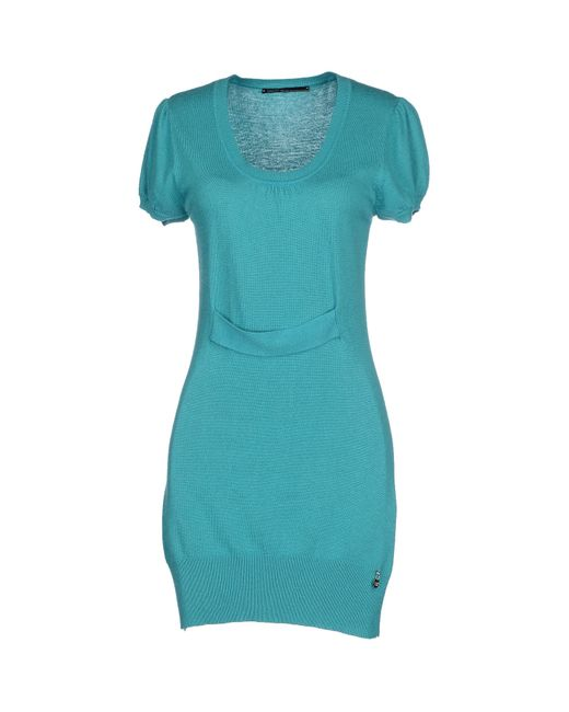 GAUDI | Green Short Dress | Lyst