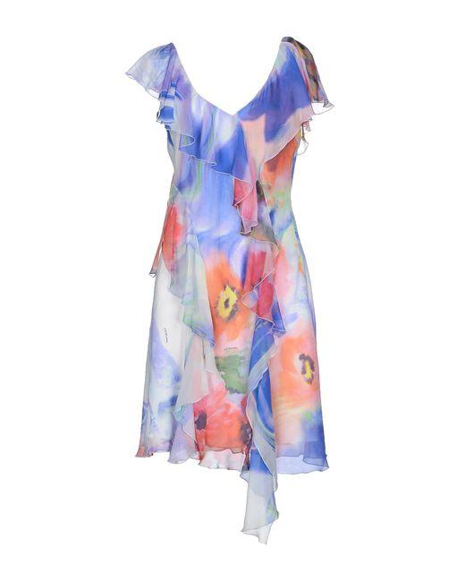 X's Milano | Orange Knee-length Dress | Lyst