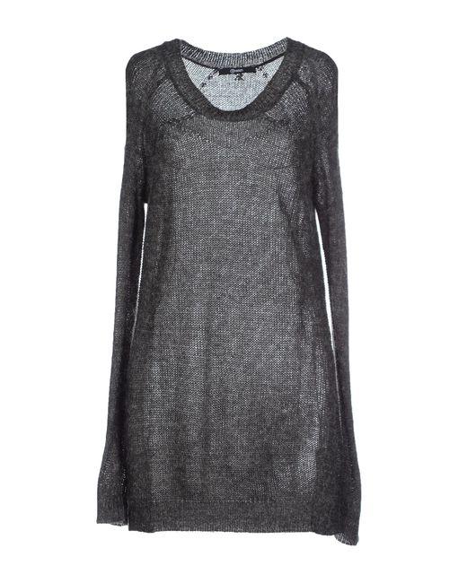 Relish   Gray Short Dress   Lyst