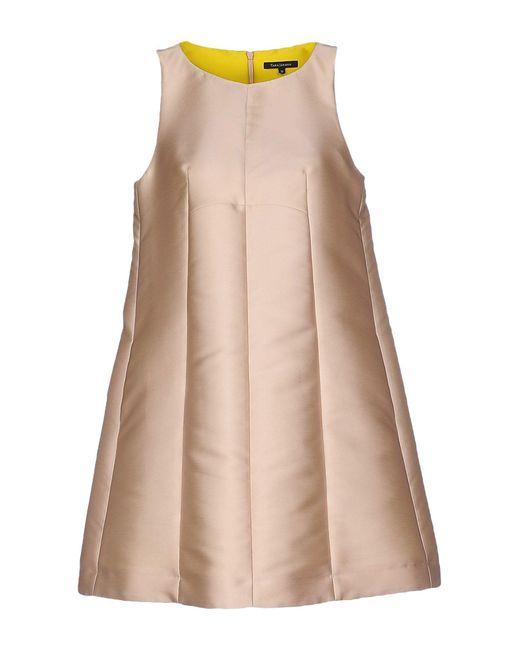 Tara Jarmon   Pink Short Dress   Lyst