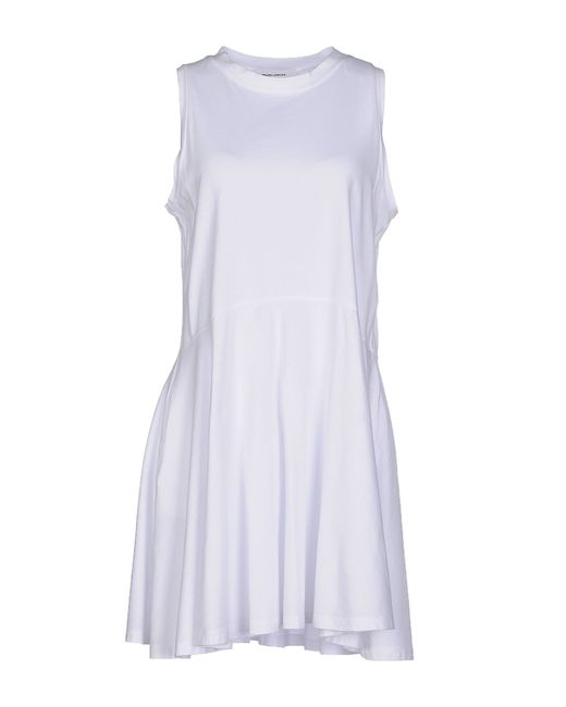 Mauro Grifoni | White Short Dress | Lyst