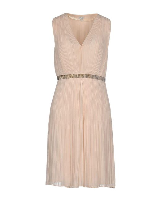 INTROPIA | Natural Knee-length Dress | Lyst
