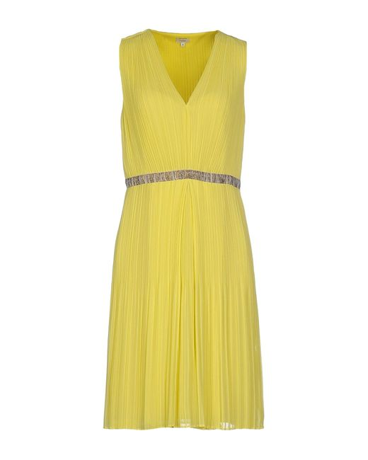 INTROPIA | Green Knee-length Dress | Lyst