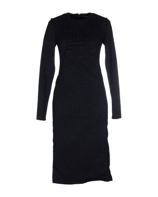 Francesco Scognamiglio | Black Knee-length Dress | Lyst