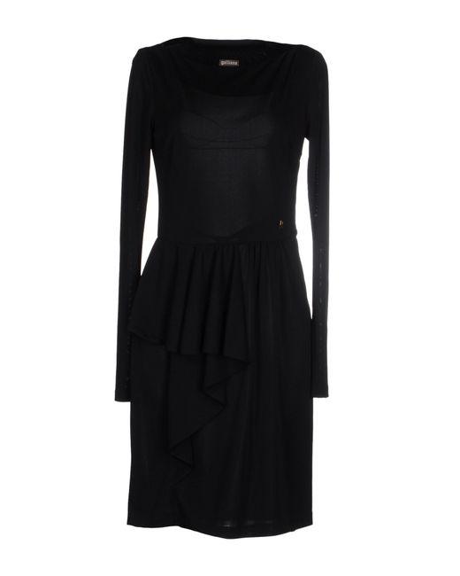 John Galliano | Black Short Dress | Lyst