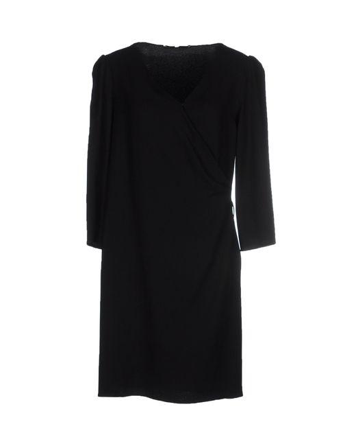 Vanessa Bruno | Black Short Dress | Lyst