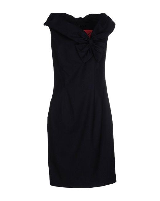 DSquared² | Blue Short Dress | Lyst