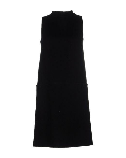 Rochas | Black Short Dress | Lyst