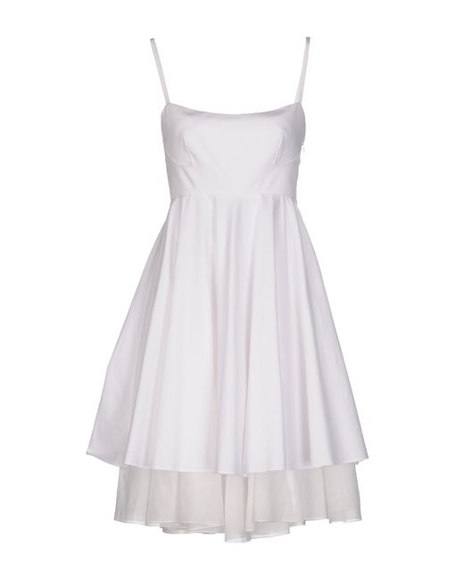 Philosophy di Alberta Ferretti   Natural Sequin-sleeved Silk Dress   Lyst