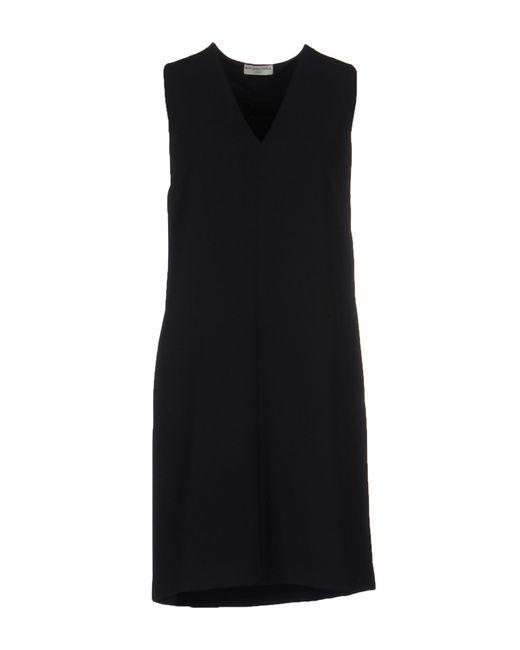 Balenciaga | Black Short Dress | Lyst