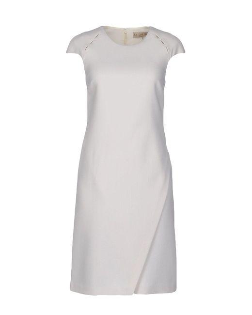 Emilio Pucci   White Short Dress   Lyst