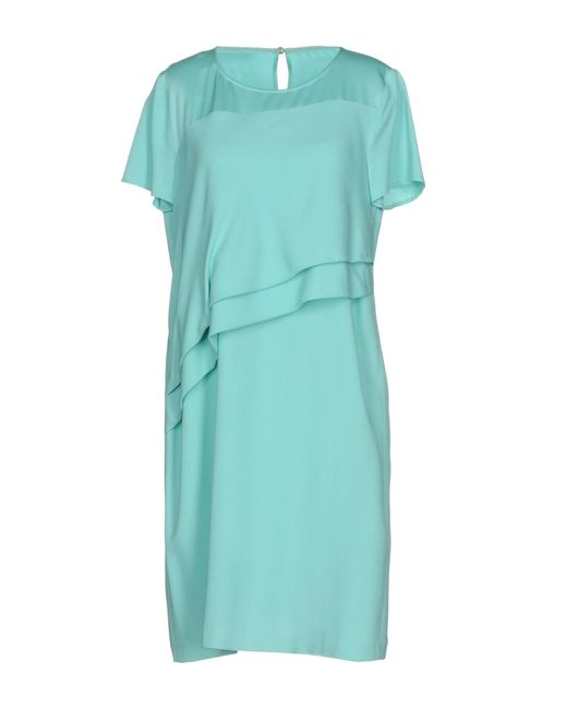 Patrizia Pepe | Green Short Dress | Lyst