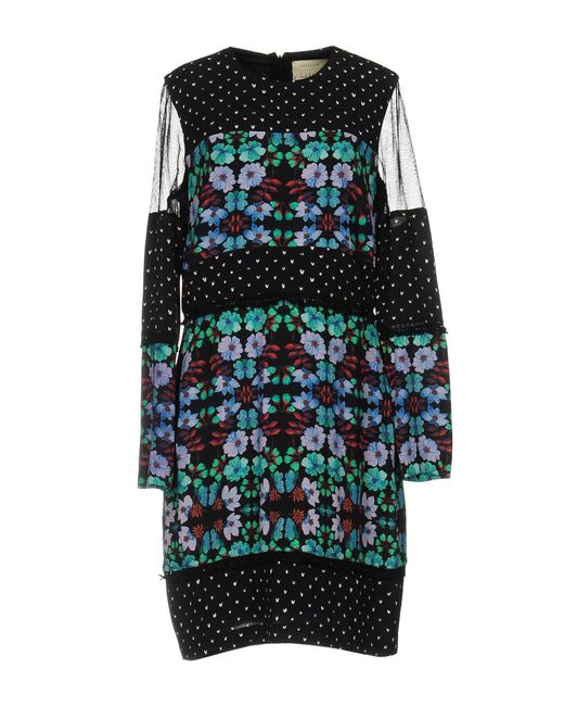 Nicole Miller Artelier   Black Short Dress   Lyst